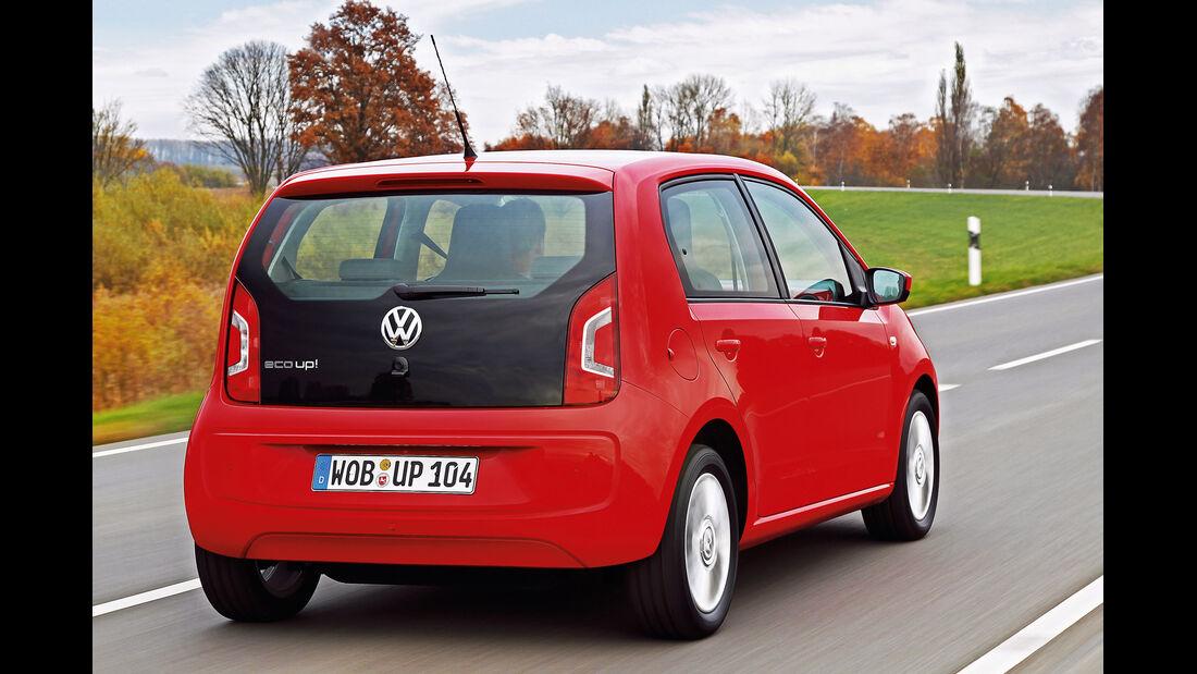 VW Eco Up CNG, Heckansicht