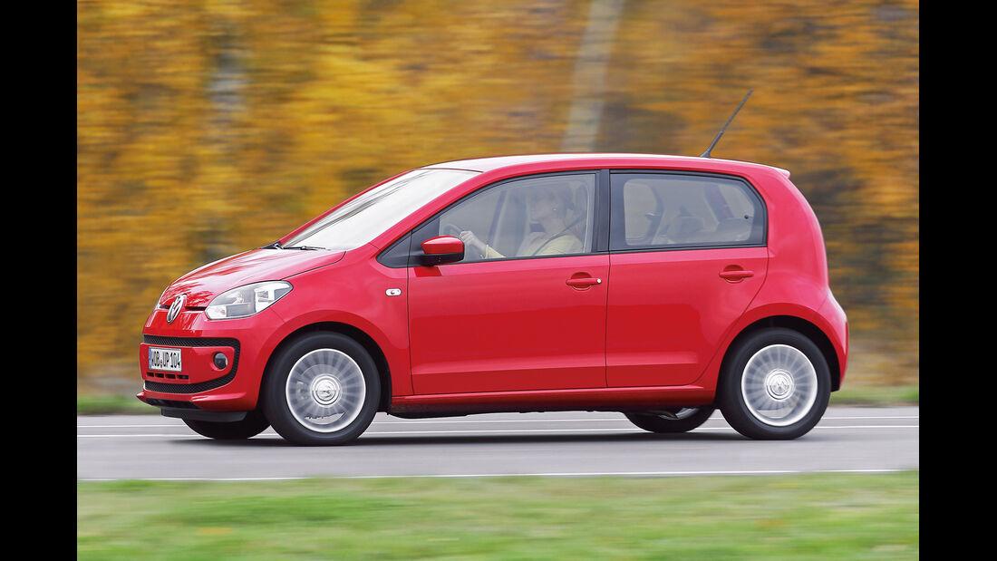 VW Eco Up CNG, Seitenansicht