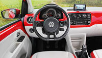 VW Eco Up, Cockpit, Lenkrad