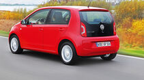 VW Eco Up, Heckansicht
