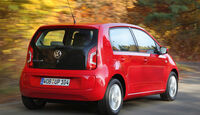 VW Eco Up, Heckansicht