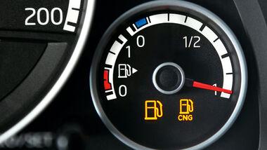 VW Eco Up, Tankanzeige