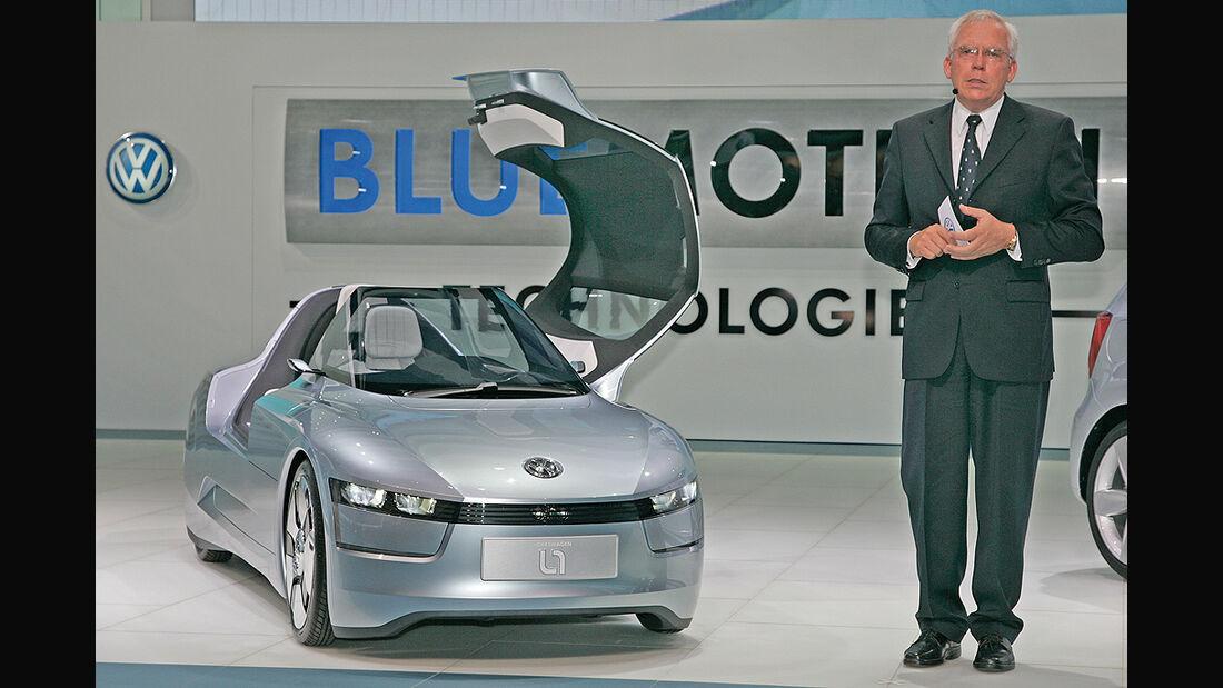 VW Einliter-Auto, VW L1, Hackenberg
