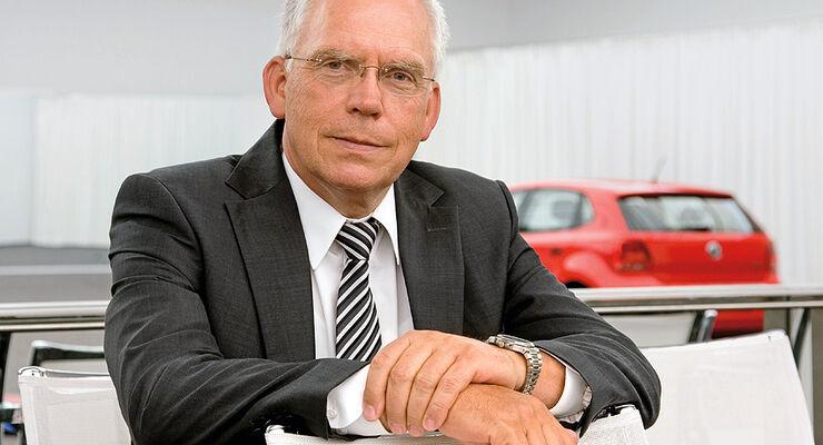 VW-Entwicklungsvorstand Ulrich Hackenberg