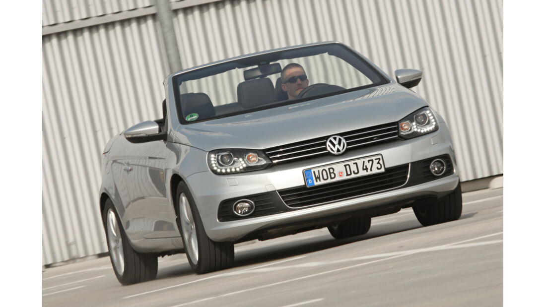 VW Eos 1.4 TSI, Frontansicht