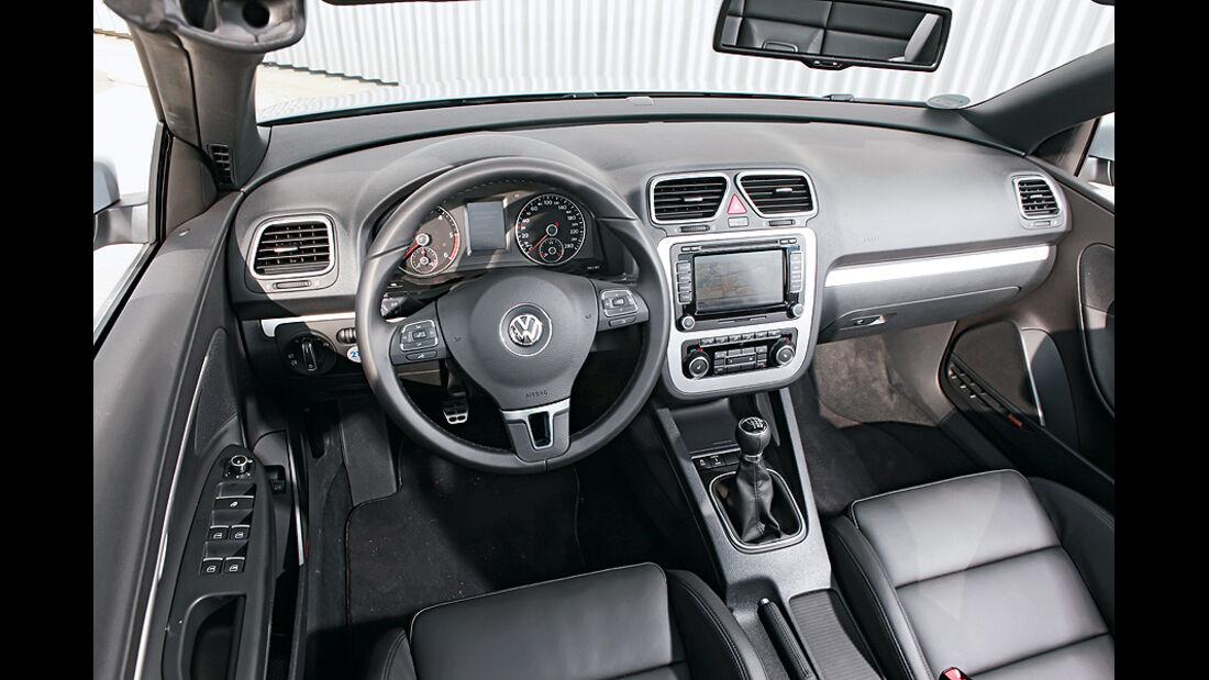 VW Eos 2.0 TDI Blue Motion Technology, Cabrio, Cockpit