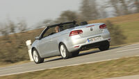 VW Eos 2.0 TDI Blue Motion Technology, Cabrio, Heck