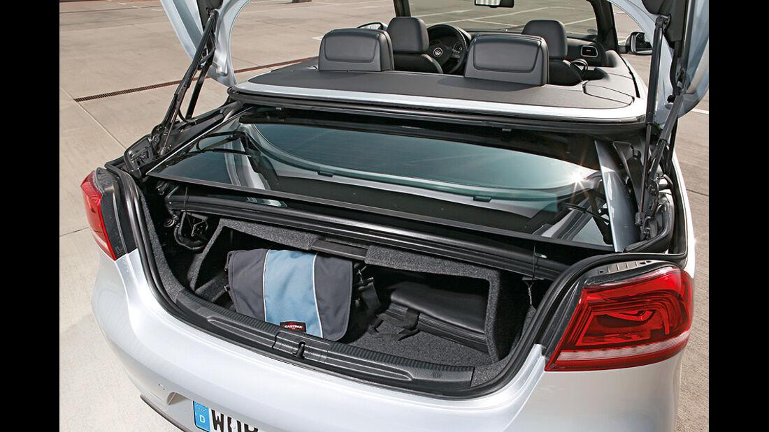 VW Eos 2.0 TDI Blue Motion Technology, Cabrio, Kofferraum