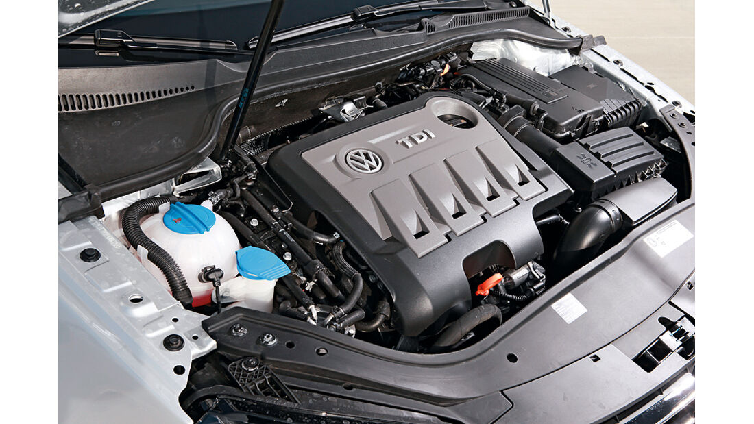 VW Eos 2.0 TDI Blue Motion Technology, Cabrio, Motor