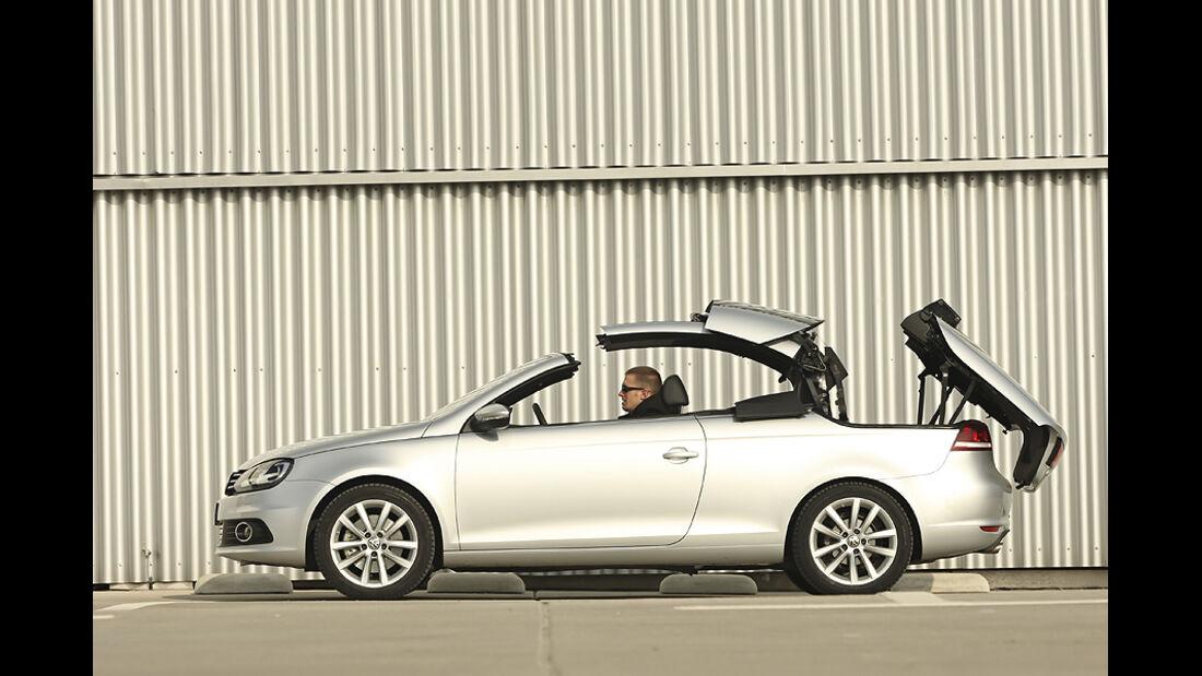VW Eos 2.0 TDI Blue Motion Technology, Cabrio, Verdeck