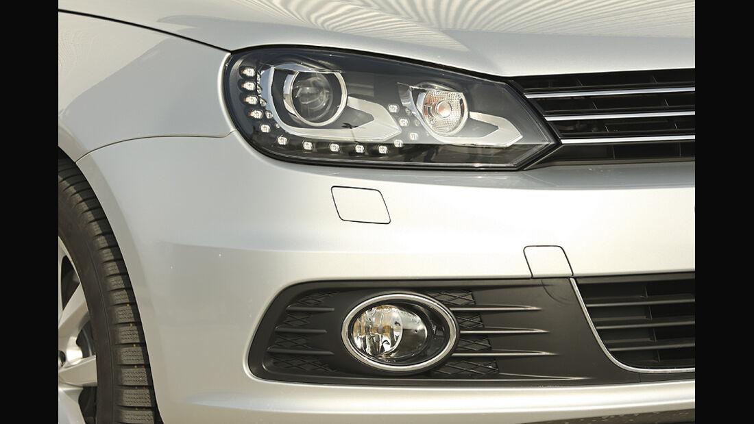 VW Eos 2.0 TDI Blue Motion Technology, Cabrio, Vorderlicht, Blinker