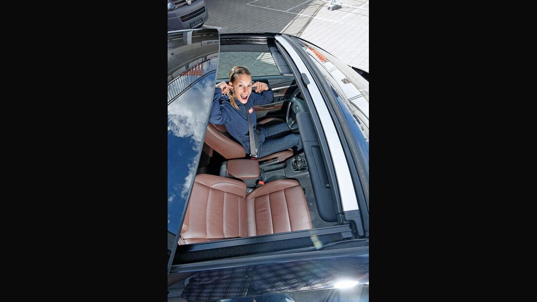 VW Eos, Cockpit, Anna Matuschek