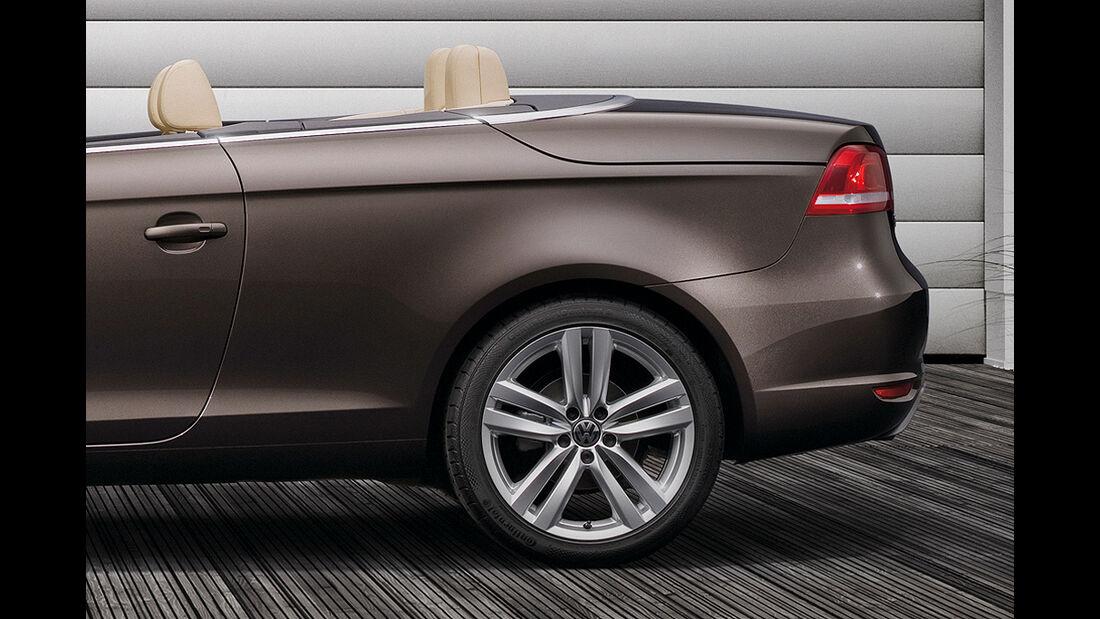 VW Eos, Facelift, 2011, Heck, Felge