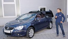 VW Eos, Frontansicht, Anna Matuschek