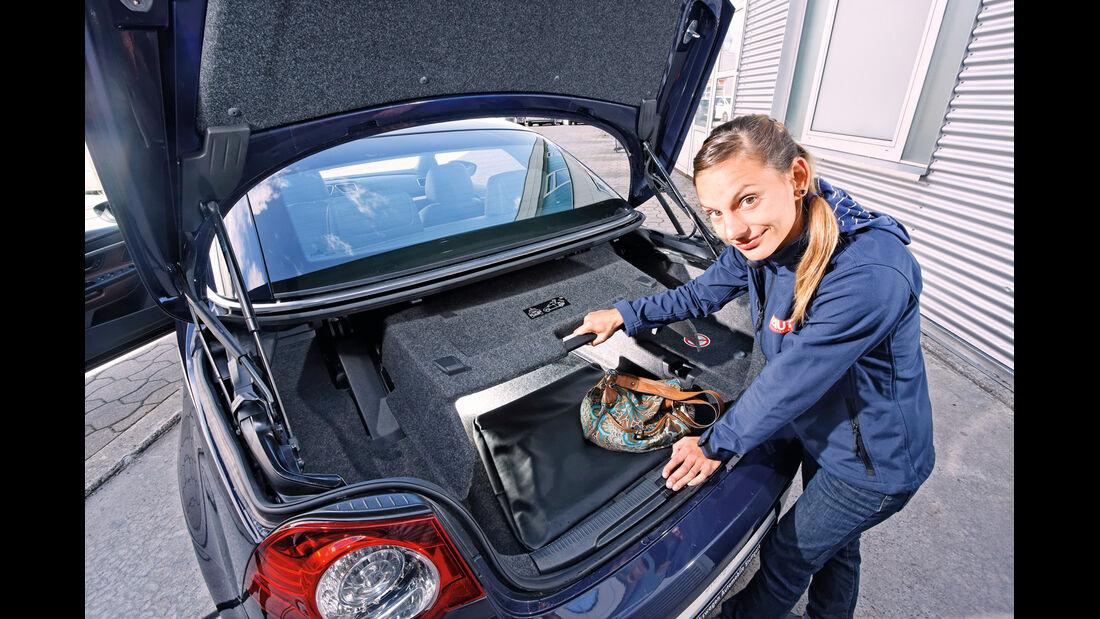 VW Eos, Kofferraum