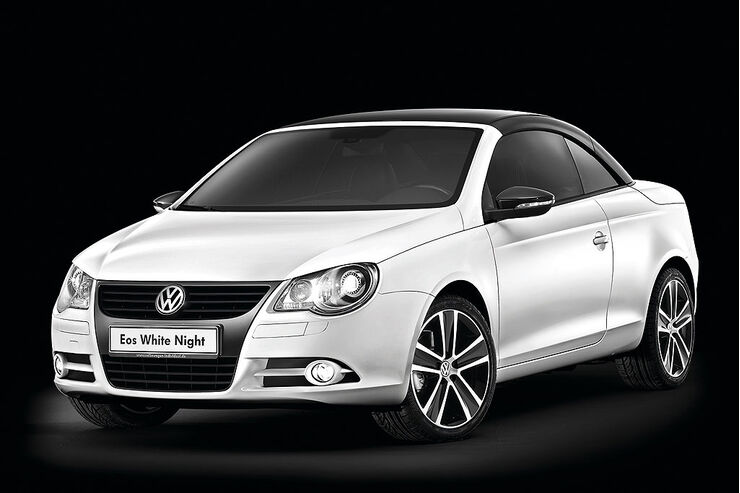 VW Eos White Night