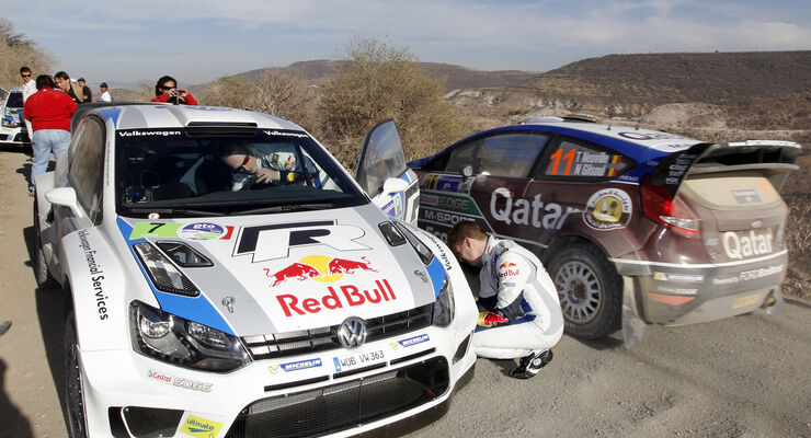VW & Ford Rallye Mexiko 2013