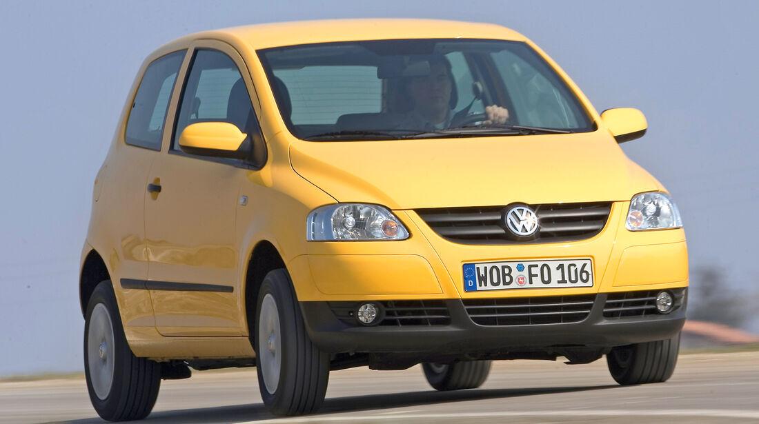 VW Fox, Frontansicht