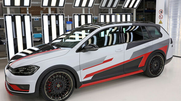 VW GTI Treffen 2018 Azubi-Golf Variant G-Motion