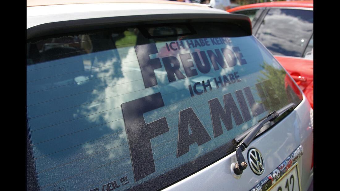 VW GTI Treffen Wörthersee 2017 Aufkleber und Shirts
