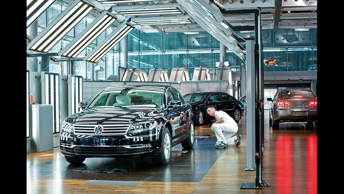 VW Gläserne Manufaktur Dresden