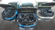 VW Golf 1.0 TSI Bluemotion, 1.2 TSI, 1.6 TDI, Motoren