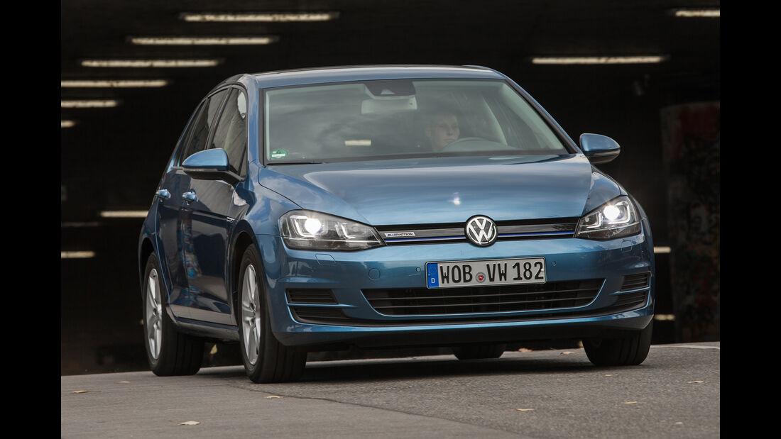 VW Golf 1.0 TSI Bluemotion, Frontansicht