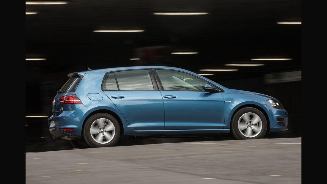 VW Golf 1.0 TSI Bluemotion, Seitenansicht