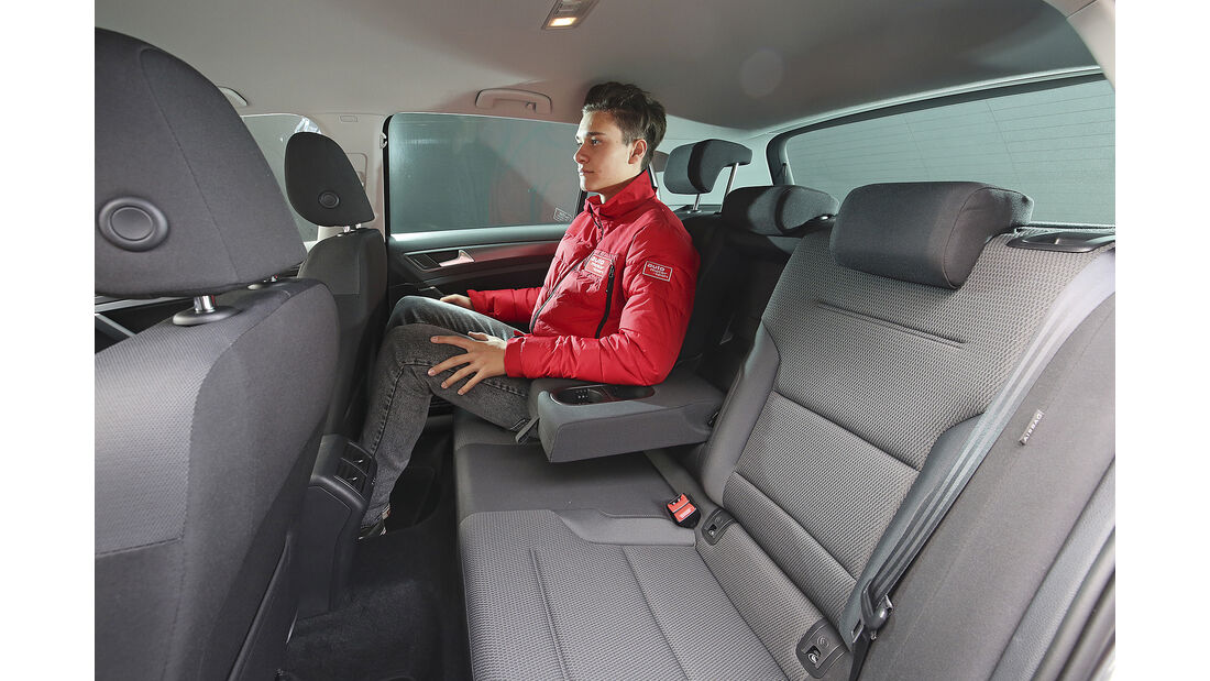 VW Golf 1.0 TSI Comfortline, Interieur