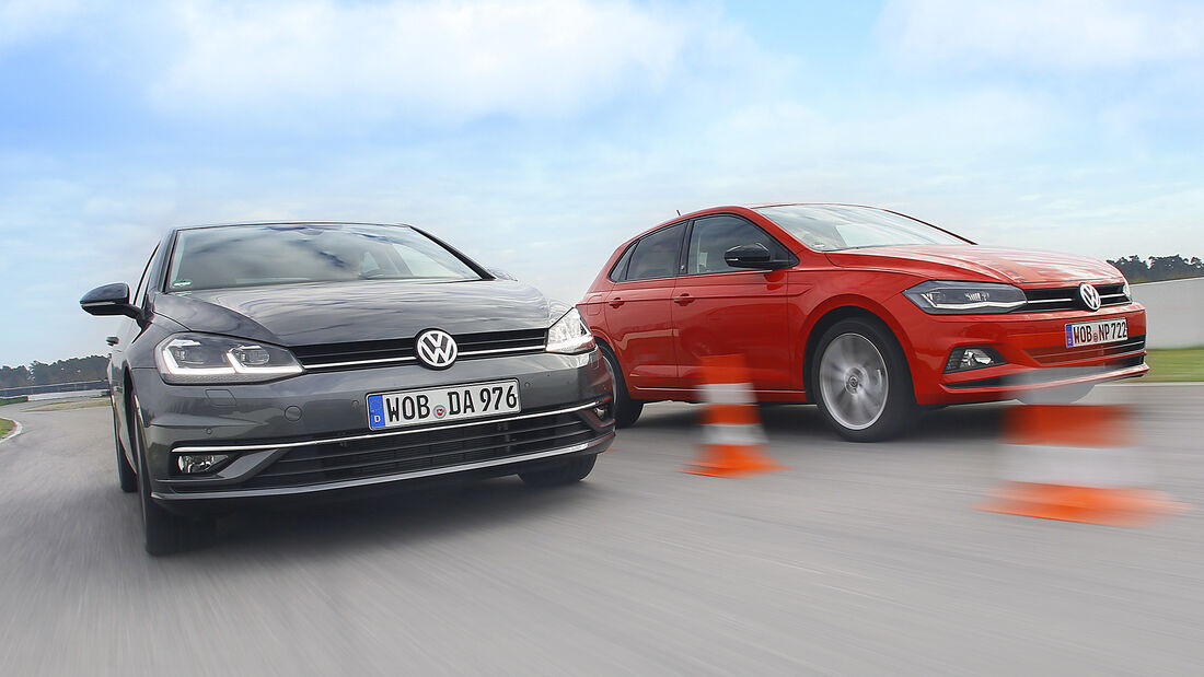 VW Golf 1.0 TSI Comfortline, VW Polo 1.0 TSI Beats, Exterieur