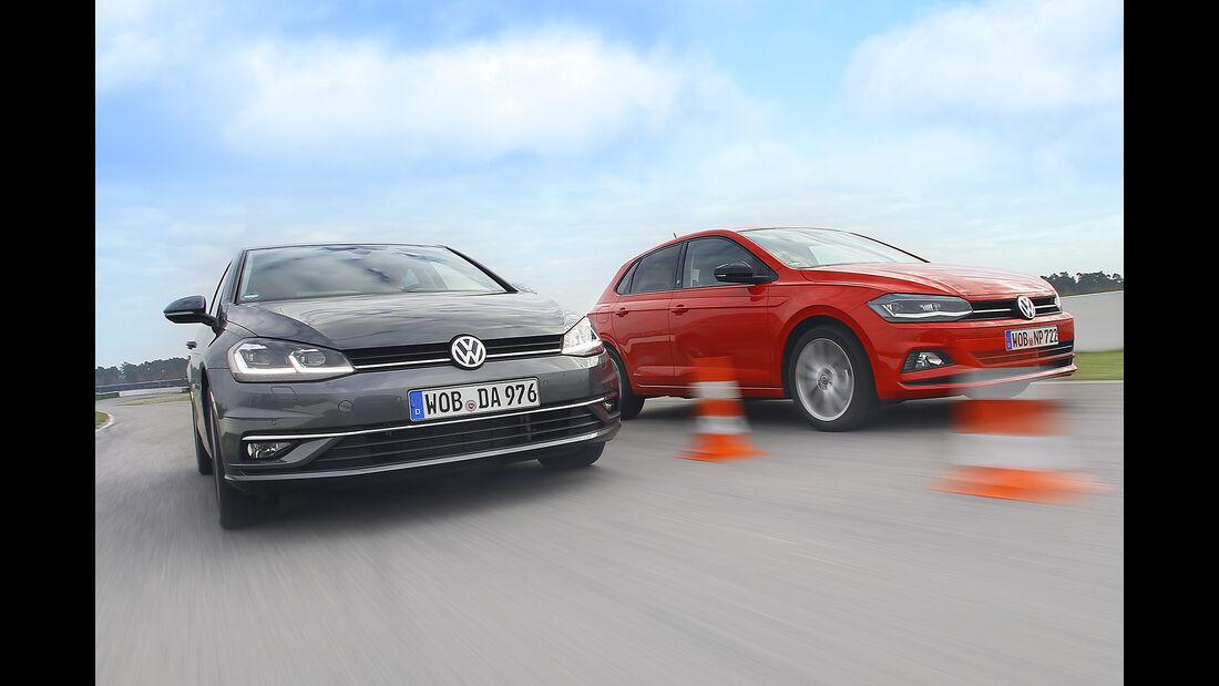 VW Golf 1.0 TSI Comfortline, VW Polo 1.0 TSI Beats, Exterieur