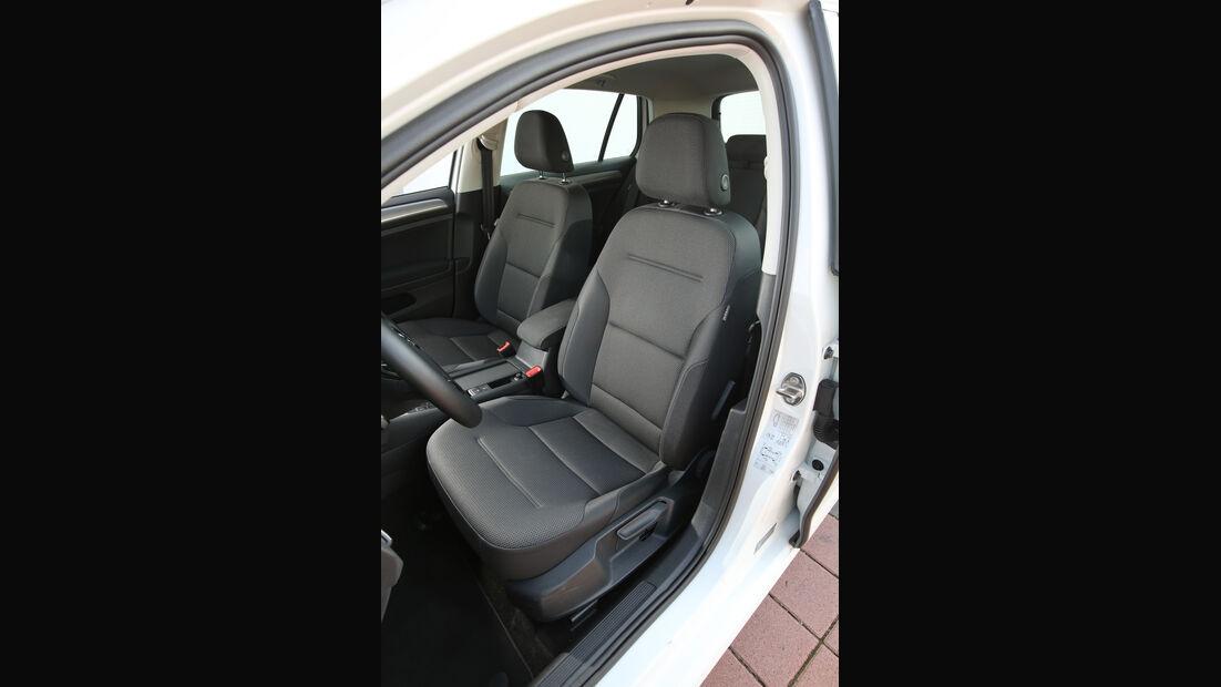 VW Golf 1.0 TSI, Fahrersitz
