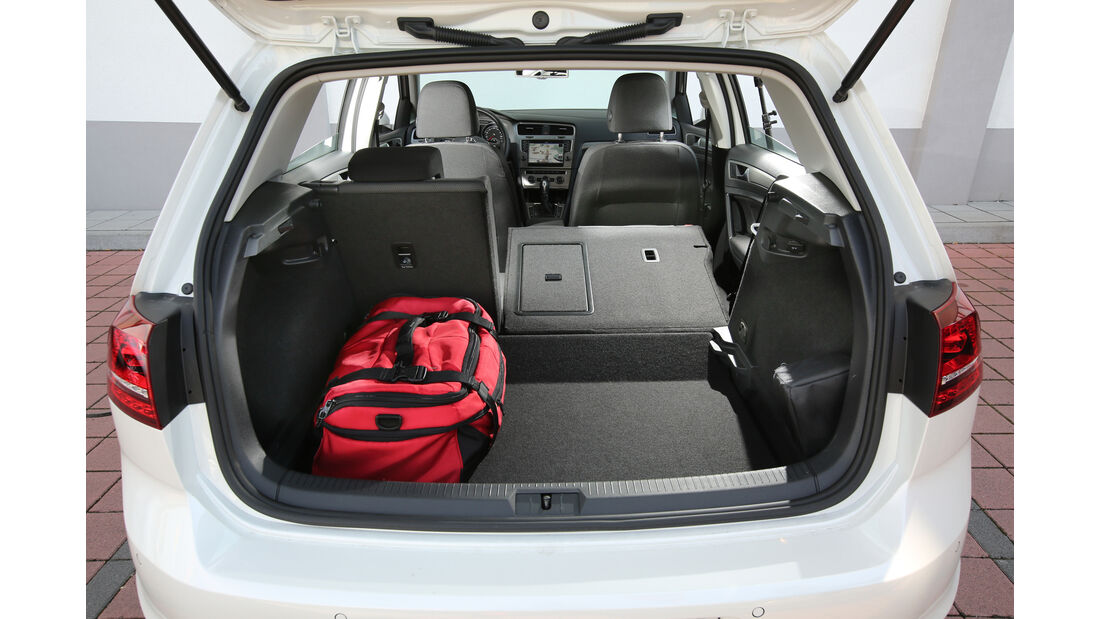 VW Golf 1.0 TSI, Kofferraum