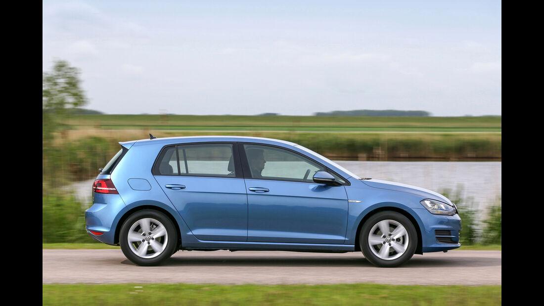 VW Golf 1.0 TSI, Seitenansicht