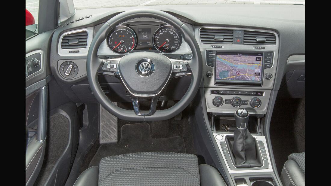 VW Golf 1.2 TSI, Cockpit