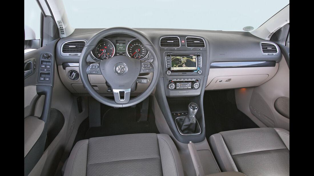 VW Golf 1.2 TSI Comfortline, Cockpit
