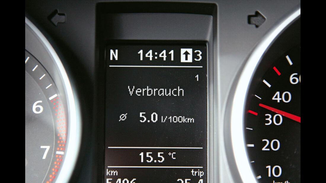 VW Golf 1.2 TSI, Display