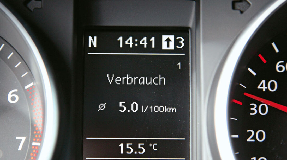 VW Golf 1.2 TSI, Display