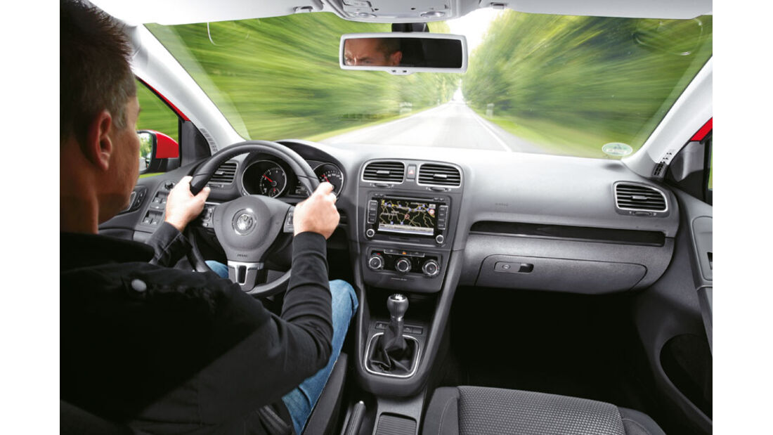 VW Golf 1.2 TSI, Innenraum, Cockpit