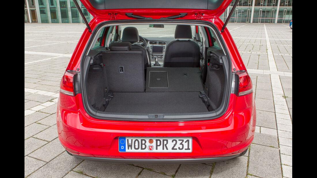 VW Golf 1.2 TSI, Kofferraum
