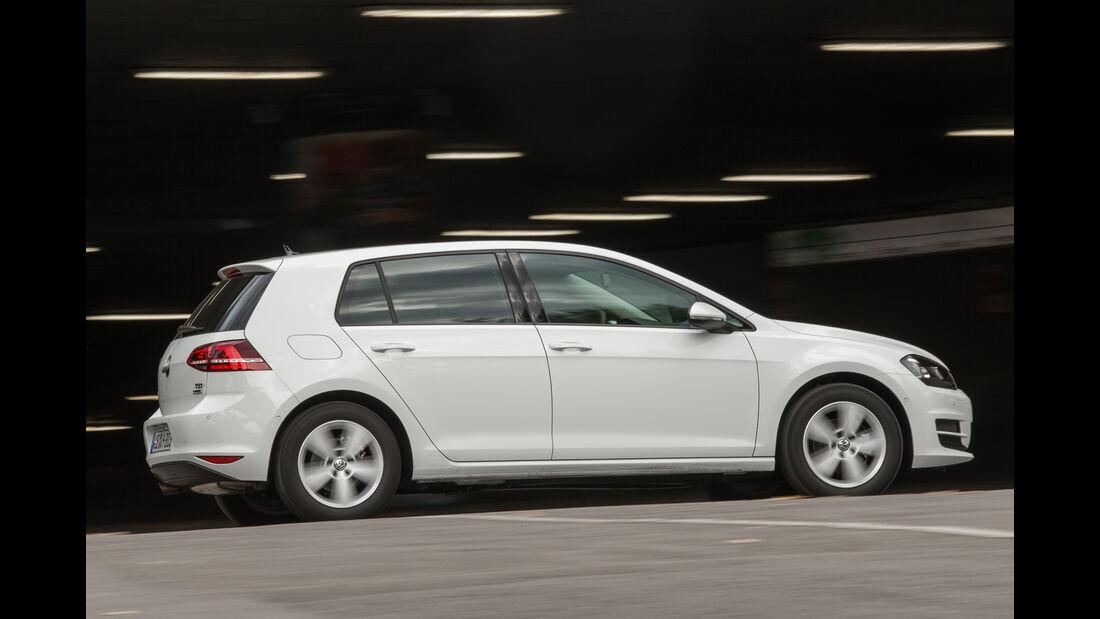 VW Golf 1.2 TSI, Seitenansicht