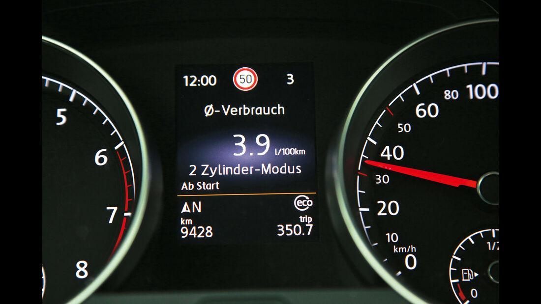 VW Golf 1.4 TSI ACT BMT, Anzeigeinstrument