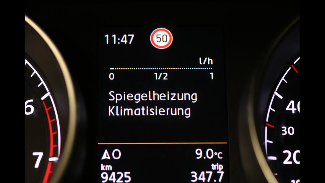 VW Golf 1.4 TSI ACT BMT, Display