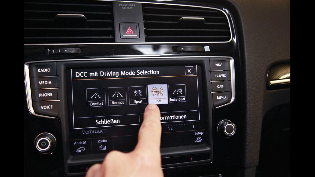 VW Golf 1.4 TSI ACT BMT, Touchscreen