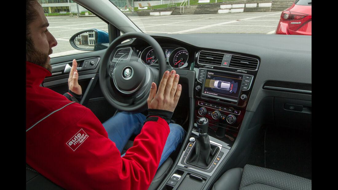 VW Golf 1.4 TSI ACT, Bedienelemente