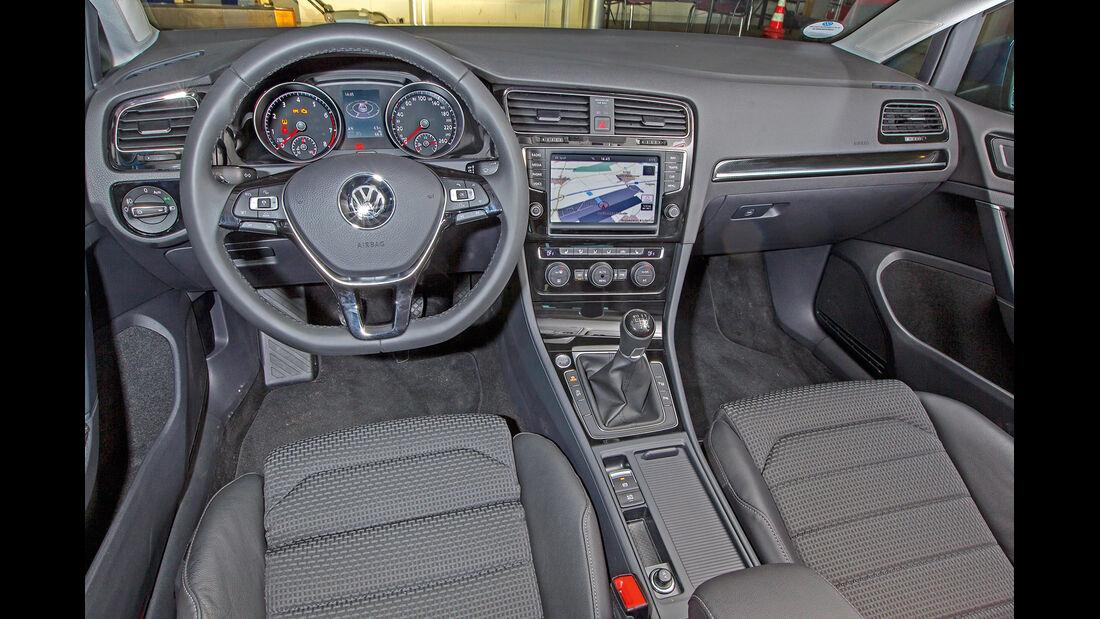 VW Golf 1.4 TSI ACT, Cockpit