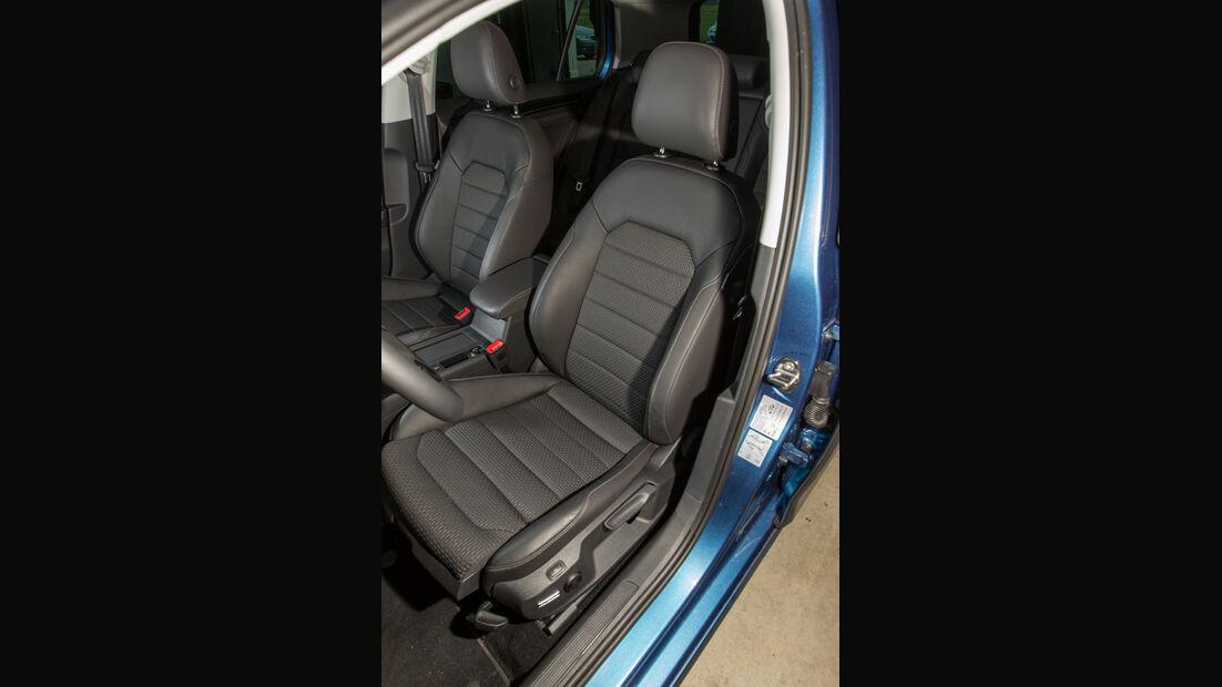 VW Golf 1.4 TSI ACT, Fahrersitz