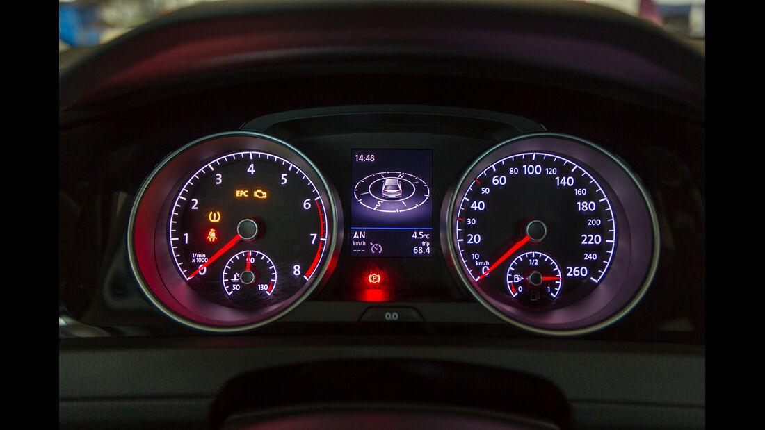 VW Golf 1.4 TSI ACT, Rundinstrumente