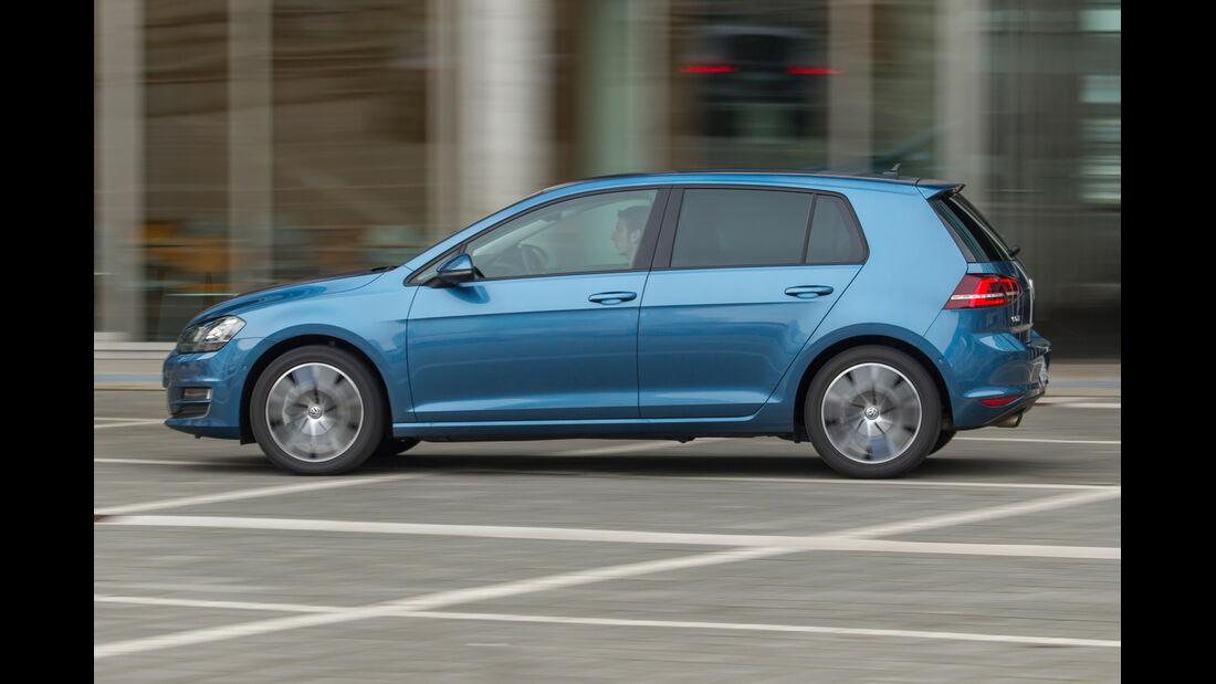 VW Golf 1.4 TSI ACT, Seitenansicht