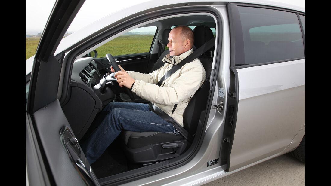VW Golf 1.4 TSI, Fahrersitz